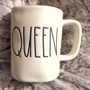 Rae Dunn QUEEN mug